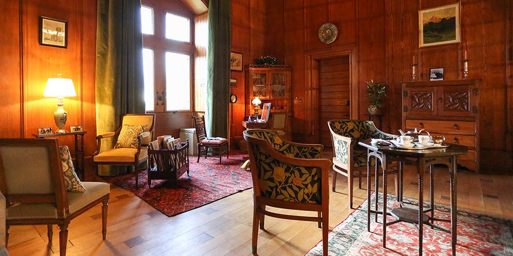 Restauration des salons de Ripaille