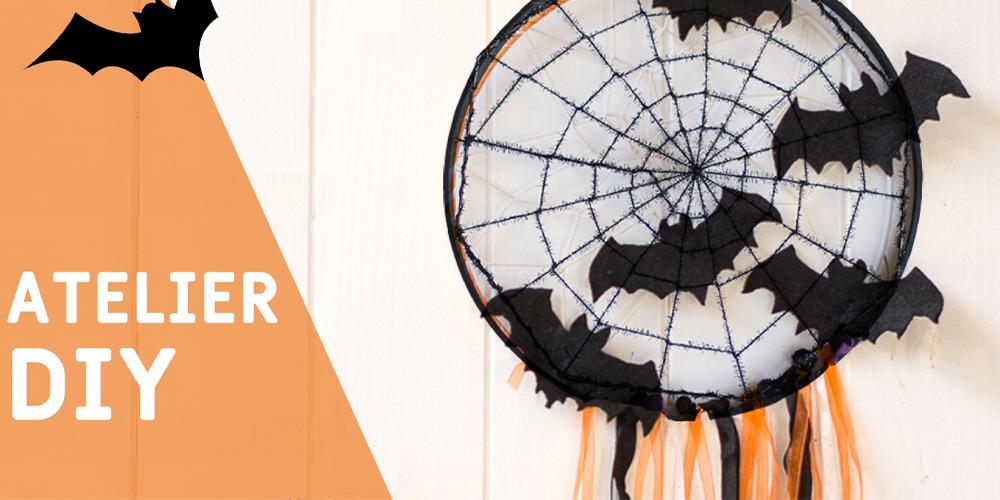 Atelier Attrape-rêve d'Halloween